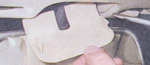 накладка кронштейна зеркала заднего вида
