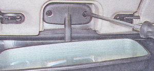 саморезы крепления зеркала заднего вида ваз 2107