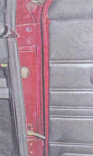 винты крепления петель передней двери ваз 2107