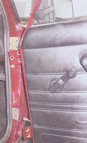 передняя дверь автомобиля ваз 2107