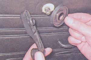 ручка стеклоподъемника ваз 2107 - розетка ручки стеклоподъемника