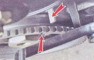 метка на шкиве инжекторный двигатель ваз 2107