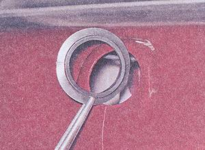 уплотнительное кольцо привода замка багажника ваз 2107