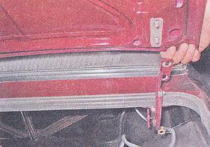 крышка багажника ваз 2107