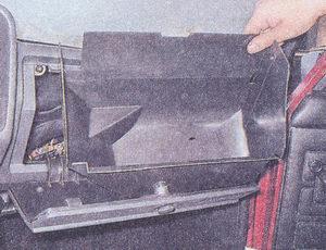 корпус вещевого ящика