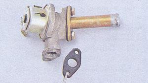 кран отопителя ваз 2107 - резиновая прокладка