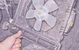 вентилятор отопителя ваз 2107
