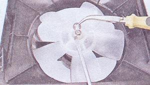 стопорная шайба вала вентилятора отопителя ваз 2107