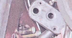 уплотнитель патрубков радиатора печки ваз 2107