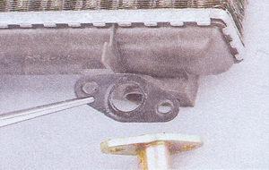 резиновая прокладка фланцев радиатора отопителя ваз 2107