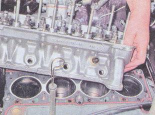 головка блока цилиндров ваз 2107