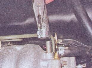 шланга вакуумного усилителя тормозов ваз 2107
