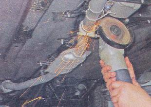 электро инструмент «болгарка»