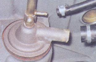 шланги вентиляции картера двигателя ваз 2107