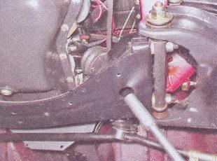 гайка нижнего крепления подушки двигателя ваз 2107