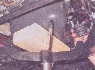 подушка двигателя ваз 2107
