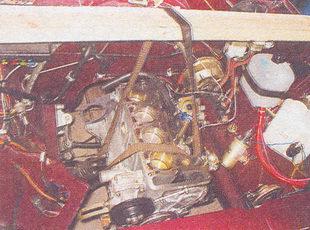 блок цилиндров двигателя ваз 2107