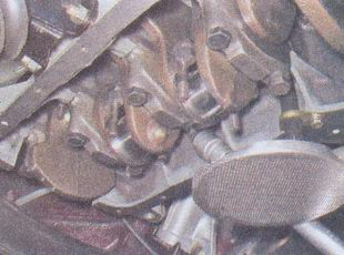 крышки коренных подшипников коленвала ваз 2107