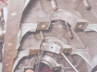 коренные вкладыши коленвала ваз 2107