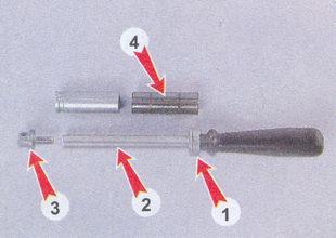 оправка для установки пальца в поршень