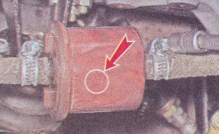 указатель направления - топливный фильтр ваз 210