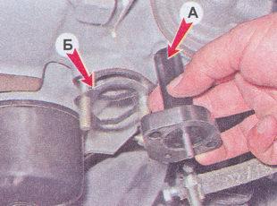 теплоизолирующую проставка - прокладка бензонасоса ваз 2107