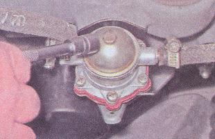 верхняя крышка бензонасоса ваз 2107