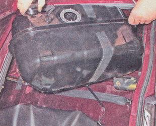 бензобак ваз 2107