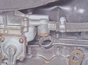 пробка топливного фильтра ваз 2107