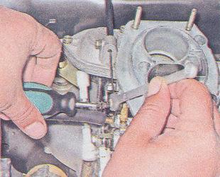 регулировка привода воздушной заслонки ваз 2107