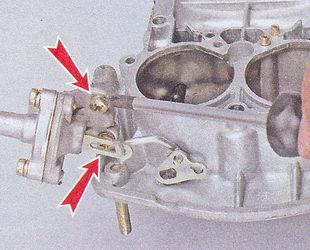 крепления пускового устройства карбюратора ваз 2107