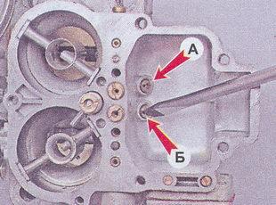 топливный жиклер карбюратора ваз 2107