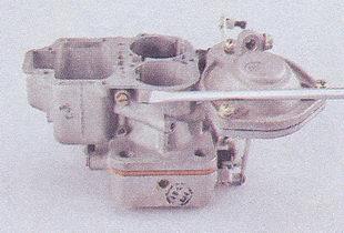 корпус топливного жиклера переходной системы вторичной камеры