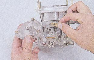пневмопривод дроссельной заслонки ваз 2107 - уплотнительная прокладка