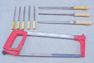 ножовка по металлу - надфили - напильники