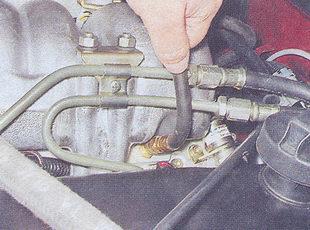 шланг манометра со специальным наконечником