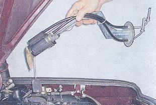 электробензонасос ваз 2107 - датчика указателя уровня топлива ваз 2107