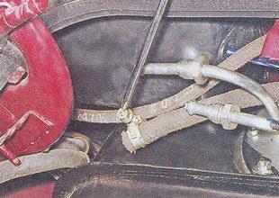 шланг переднего патрубка бензобака ваз 2107