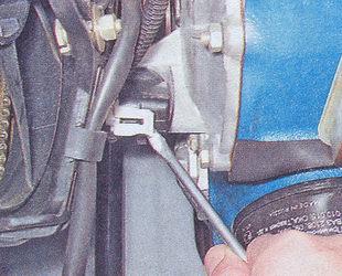 колодка проводов датчика положения коленвала ваз 2107
