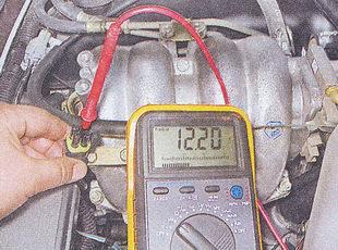 проверка напряжения на разъеме датчика концентрации кислорода ваз 2107