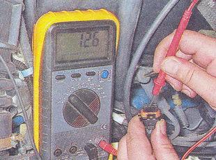 проверка напряжения на разъеме катушки зажигания ваз 2107
