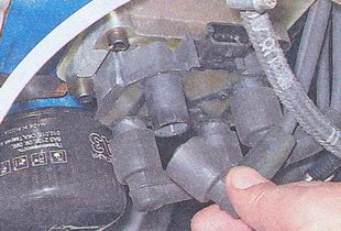 высоковольтные провода катушки зажигания ваз 2107