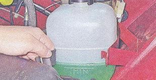 расширительный бачок ваз 2107