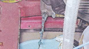 сливаем охлаждающую жидкость из радиатора ваз 2107
