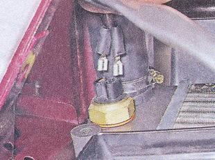 наконечники проводов датчика вентилятора ваз 2107