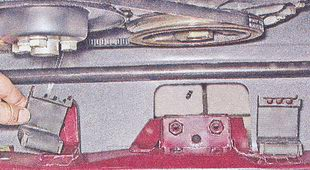 резиновые подушки радиатора ваз 2107