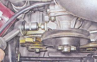 гайка крепления регулировочной планки генератора ваз 2107