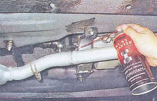 приемная труба глушителя ваз 2107 - дополнительный глушитель ваз 2107