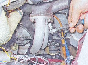 фланец приемной трубы глушителя ваз 2107