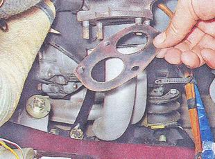 прокладка фланца приемной трубы глушителя ваз 2107